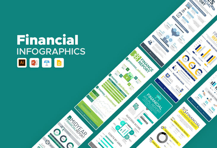Germi Finance Infographics Bundle