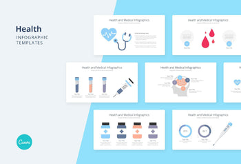 Healthcare Infographics 2 - Canva Template