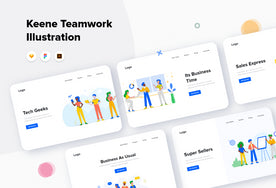 Keene Teamwork Illustrations