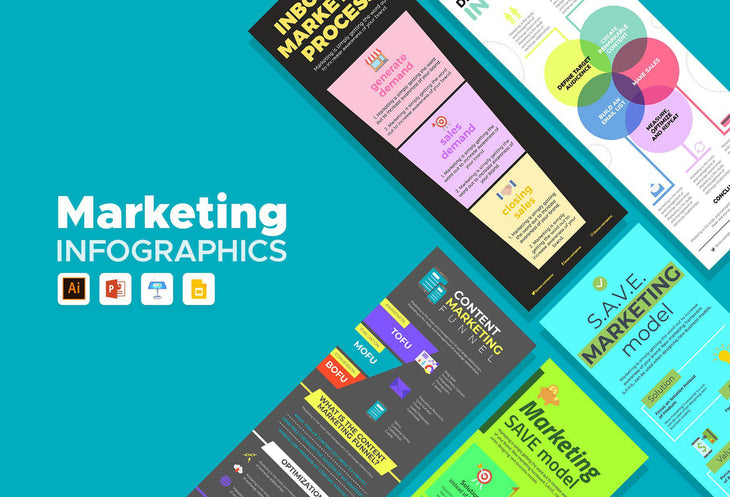 Larren Marketing Infographics Bundle