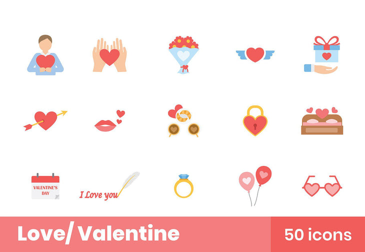 Love Valentine Icons 2