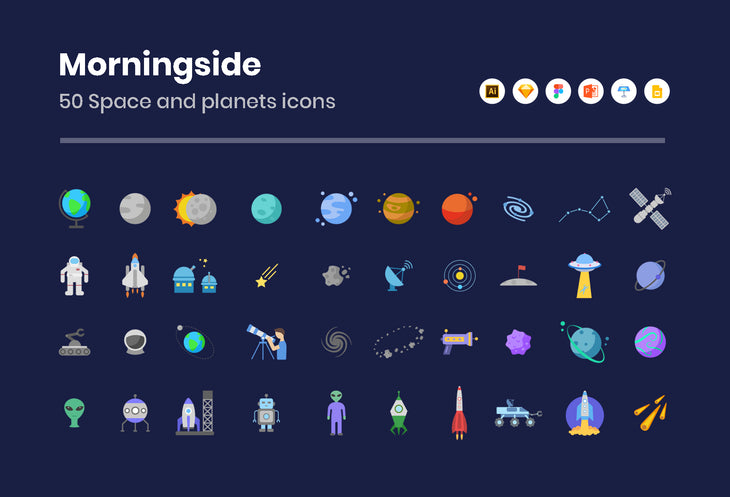 Morningside Space Icons