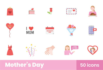 Mother's Day Icons 2