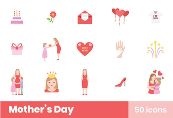 Mother's Day Icons