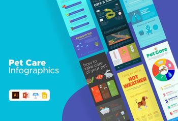 Pet Care Infographics Bundle