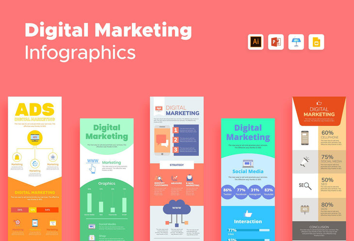 Navarre Digital Marketing Infographics Bundle
