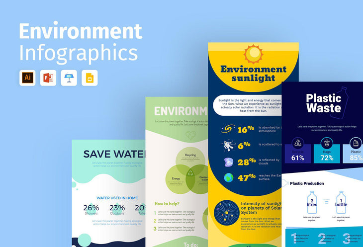 Paphos Environment Infographics Bundle