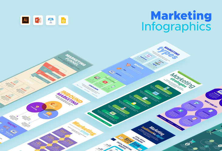 Pau Marketing Infographics Bundle