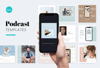 Instagram Creator for Podcasters - Canva Bundle