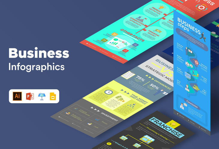 Prato Business Infographics Bundle