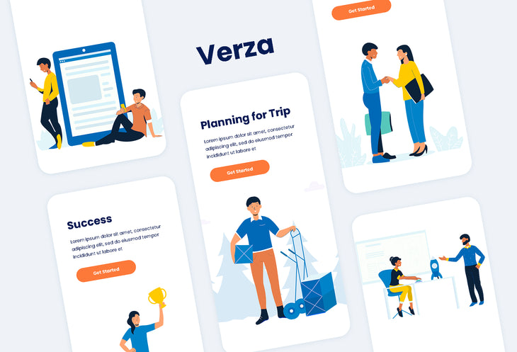 Verza Illustration Kit