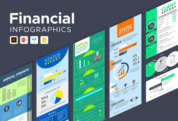 Ruse Finance Infographics Bundle