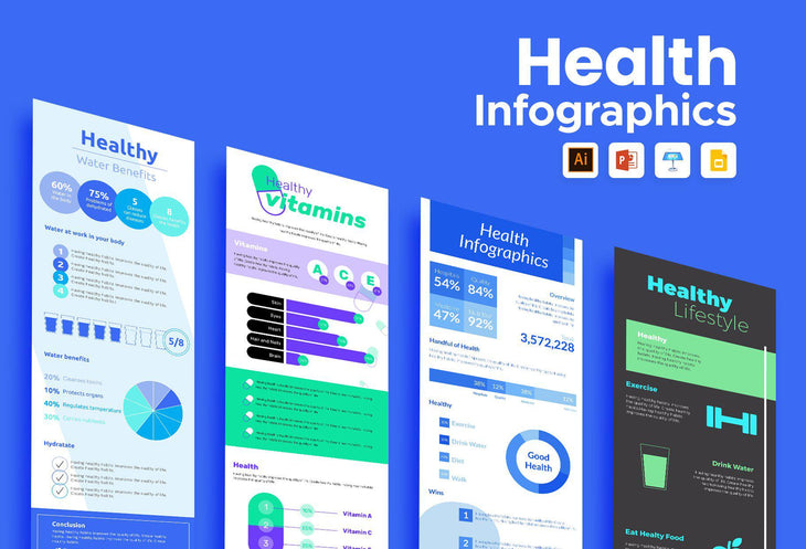 Segovia Health Infographics Bundle