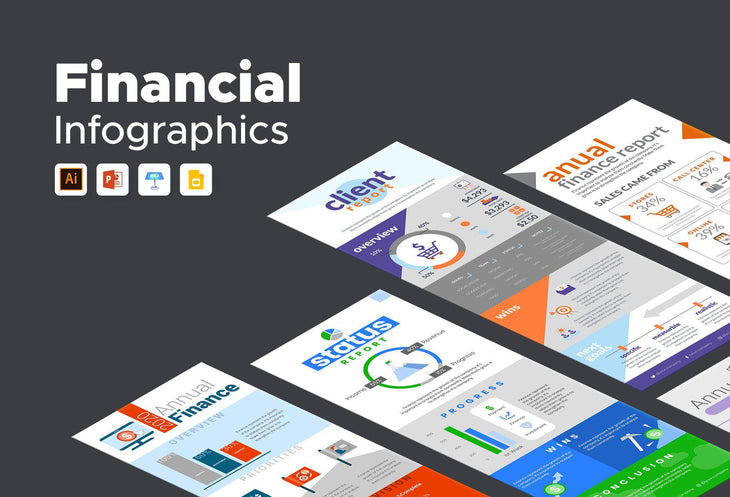 Valley Finance Infographics Bundle