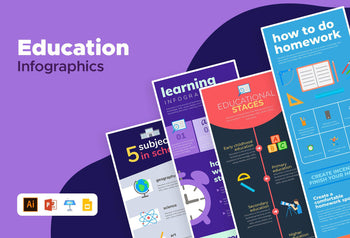 Venice Education Infographics Bundle