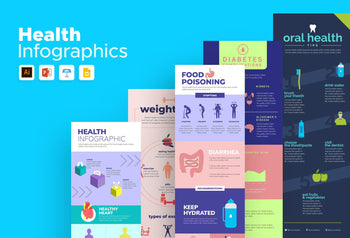 Zamora Health Infographics Bundle
