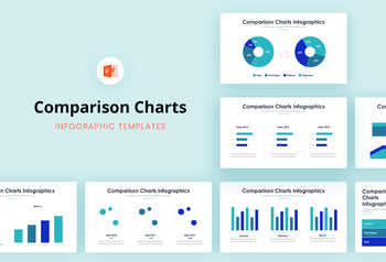 Comparison Charts 2 - PowerPoint Template