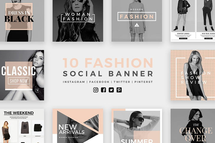 Stylish - 100 Social Media Templates