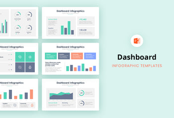 Dashboard Infographics 4 - PowerPoint Template