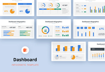 Dashboard Infographics 5 - PowerPoint Template