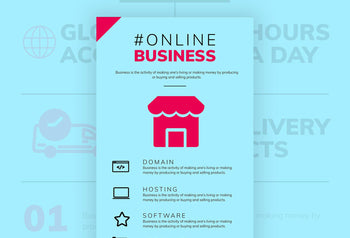 Ecommerce Free Infographic Template