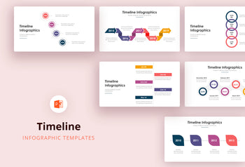 Timeline Infographics - PowerPoint Template 2