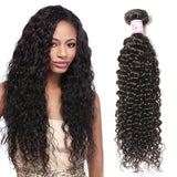 Brazilian Virgin Hair 100% Human Hair Curly (#1B Natural Black)
