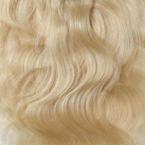 16 – 26 Inch Clip In Remy Hair Extensions Body Wave (#613 Bleach Blonde)