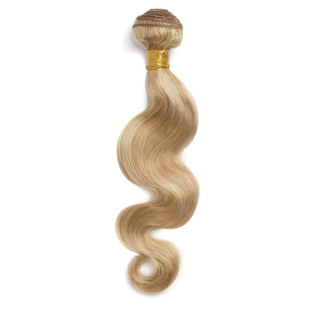 16 – 26 Inch Human Remy Hair Extensions Body Wave (#27/#613)