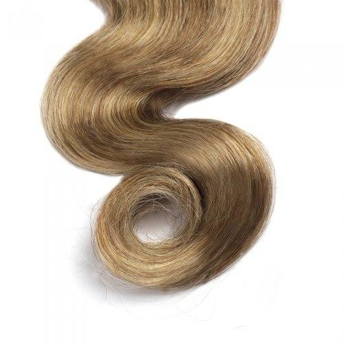 16 – 26 Inch Human Remy Hair Extensions Body Wave (#8/#613)