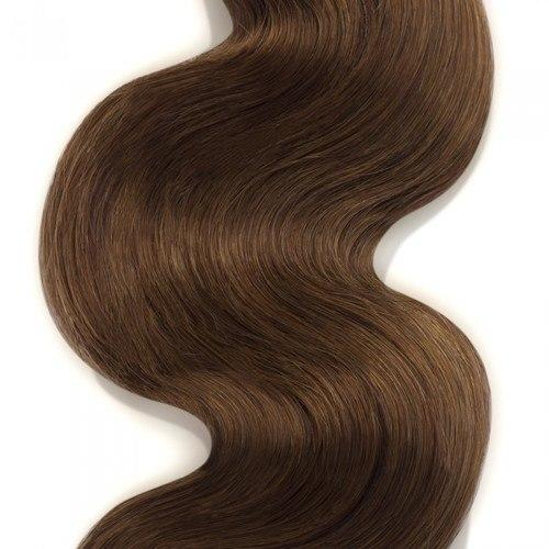 16 – 26 Inch Human Remy Hair Extensions Body Wave (#8 Light Brown)
