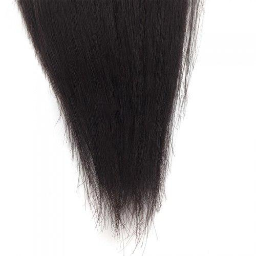 16 – 26 Inch Human Remy Hair Extensions Straight (#1B Natural Black)