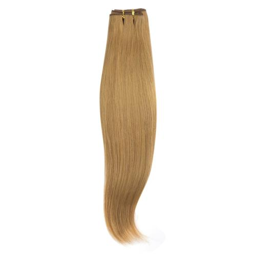 16 – 26 Inch Human Remy Hair Extensions Straight (#27 Strawberry Blonde)