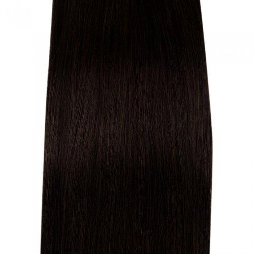 16 – 26 Inch Human Remy Hair Extensions Straight (#2 Dark Brown)