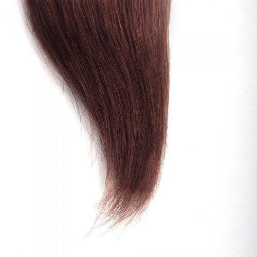 16 – 26 Inch Human Remy Hair Extensions Straight (#33 Dark Auburn)