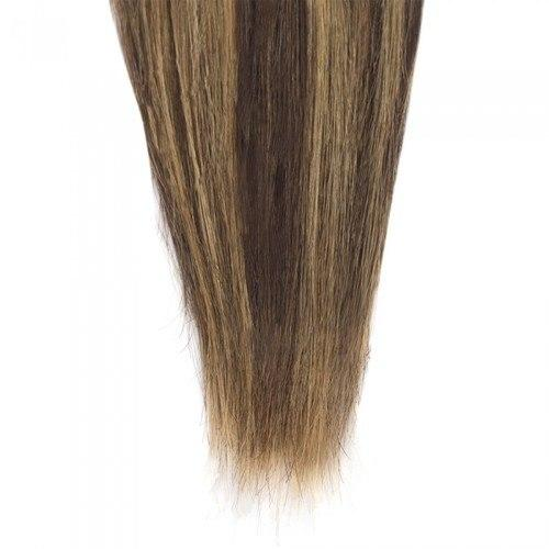 16 – 26 Inch Human Remy Hair Extensions Straight (#4/#27)