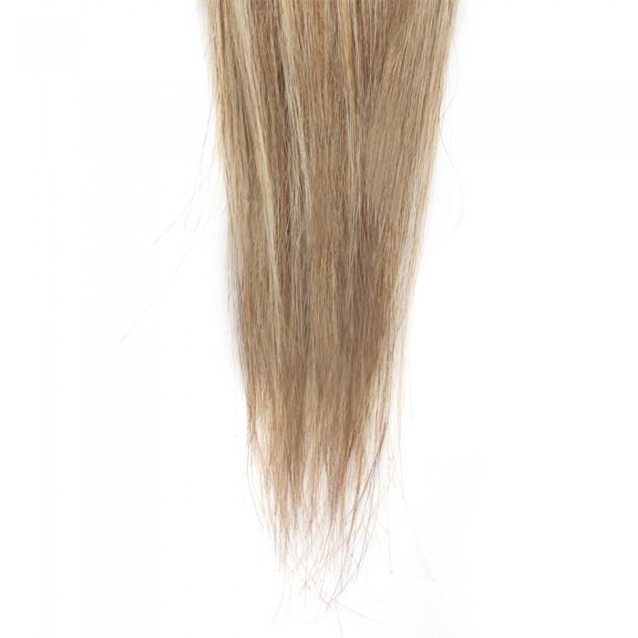 16 – 26 Inch Human Remy Hair Extensions Straight (#8/#613)