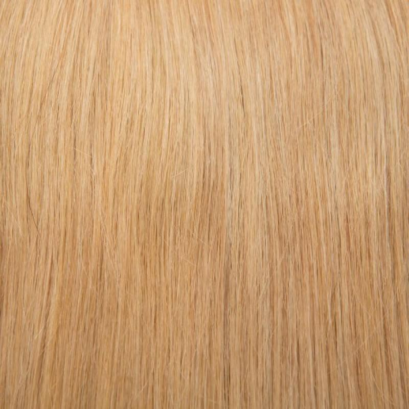 16 – 24 Inch Nail I Tip Remy Hair Extensions Straight (#27 Strawberry Blonde)