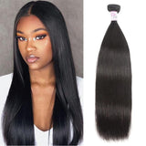 Malaysian Virgin Hair 100% Human Hair Straight (#1B Natural Black)
