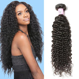 10 – 30 Inch Peruvian Virgin Hair 100% Human Hair Curly (#1B Natural Black)