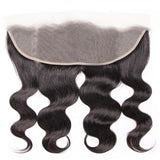 Virgin Hair 3 Bundles with Lace Frontal Body Wave Hair 100% Human Hair