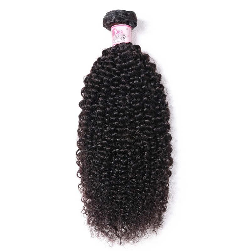 10 – 30 Inch Peruvian Virgin Hair 100% Human Hair Kinky Curly (#1B Natural Black)