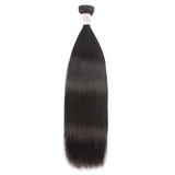 10 – 30 Inch Malaysian Virgin Hair 100% Human Hair Straight (#1B Natural Black)
