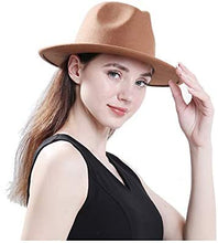 Load image into Gallery viewer, Buckle Fedora Hat