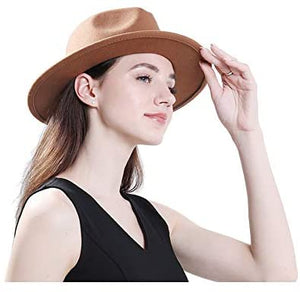 Buckle Fedora Hat
