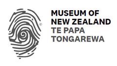 Thumbprint logo of the National Museum of New Zealand, Te Papa Tongarewa