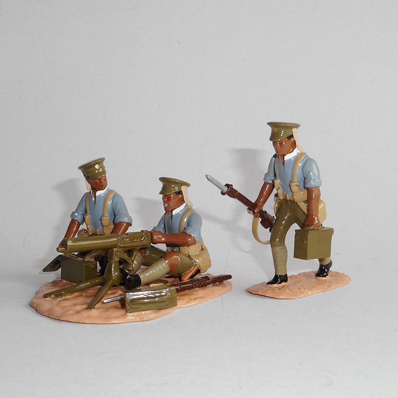 Figurines of māori soldiers, exquisitely hand painted