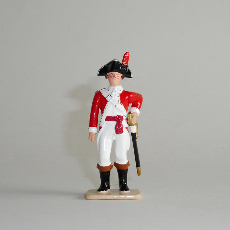 Figurine of Lieutenant John Edgcumbe, exquisitely hand painted