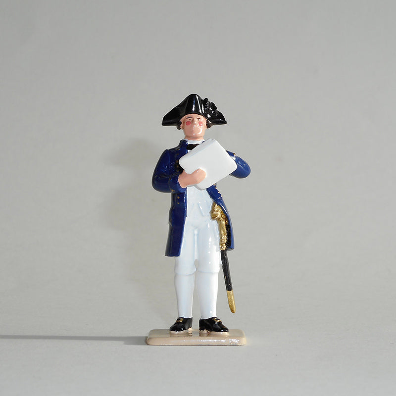 Figurine of William Bligh, exquisitely hand painted