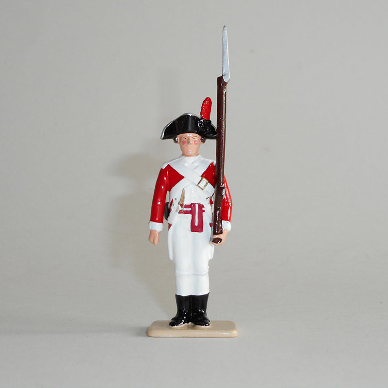 Figurine of Sergeant Samuel Gibson, exquisitely hand painted